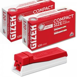 GIZEH Compact Size im Starter-Set