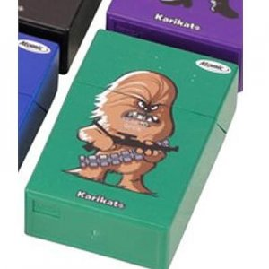 Galaxy Wars Atomic Zigarettenbox Grün