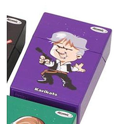 Galaxy Wars Atomic Zigarettenbox Lila