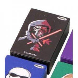 Galaxy Wars Atomic Zigarettenbox Schwarz