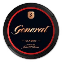 General CUT Snus Titanium Original (Strong) Chewing Bags 18g Dose