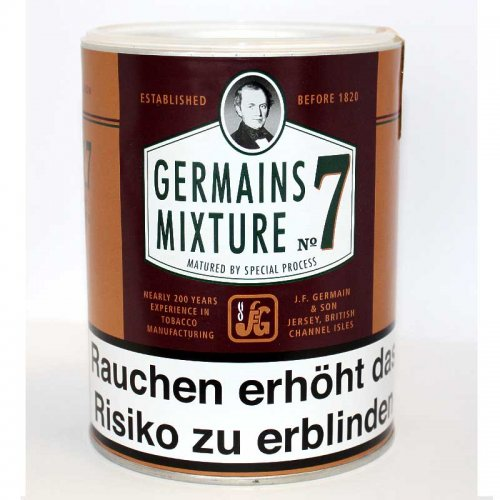 Germains Pfeifentabak Mixture No.7 200g Dose