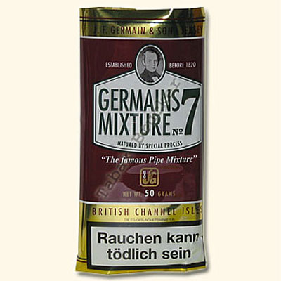 Germains Pfeifentabak Mixture No.7 50g Packung