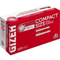Gizeh Compact Size 7,2mm Zigarettenhülsen 120 Stück