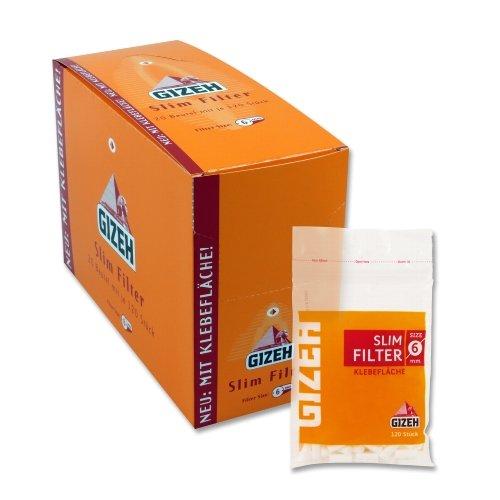 Gizeh Filter Slim 6mm Zigarettenfilter 120 Stück