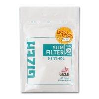 Gizeh Slim Filter Menthol Zigarettenfilter 120 Stück