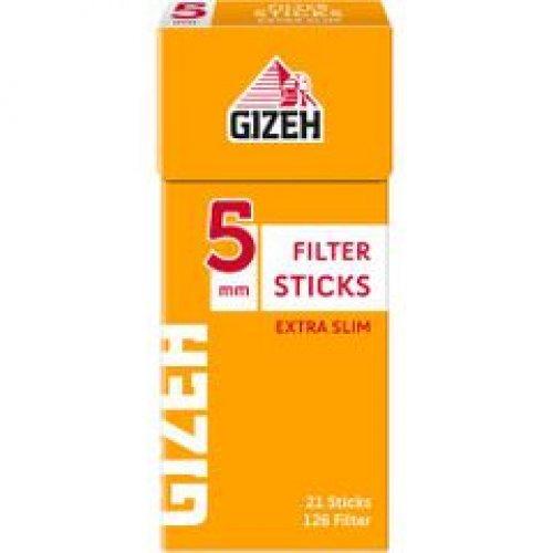 Gizeh Tip Sticks Extra Slim Filter 5 mm 126 Stück