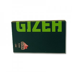 Gizeh Zigarettenpapier Black Fine Green 1x100 Blättchen