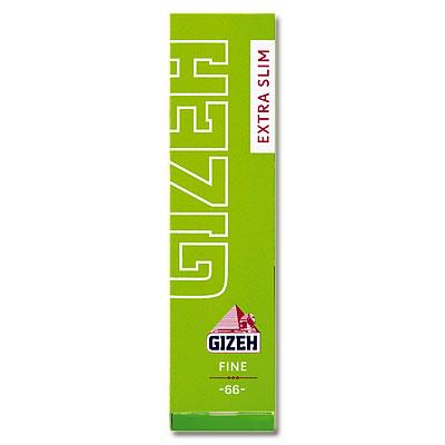 Gizeh Zigarettenpapier Extra Slim Fine Grün 1x66 Blättchen