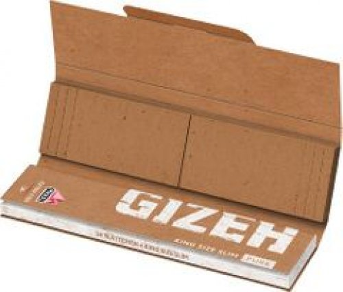Gizeh Zigarettenpapier Pure King Size Slim + Tips