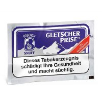 Gletscherprise Schnupftabak 25g Nachfüllpack
