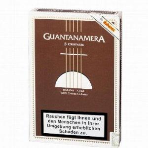 Guantanamera Zigarren Cristales Glastube 5er