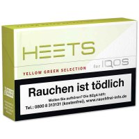 HEETS Yellow Green Tobacco Sticks für IQOS 1 x 20 Stück