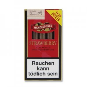 Handelsgold Bright Red Zigarillos (Sweets Strawberry)