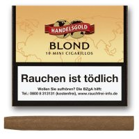 Handelsgold Zigarillos Mini Blond Vanille