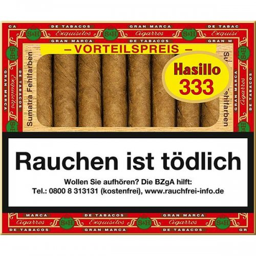 Hasillo 333 Sumatra Zigarillos
