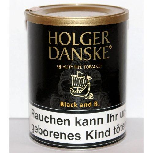 Holger Danske Pfeifentabak B.B. (Black & Bourbon) 200g Dose