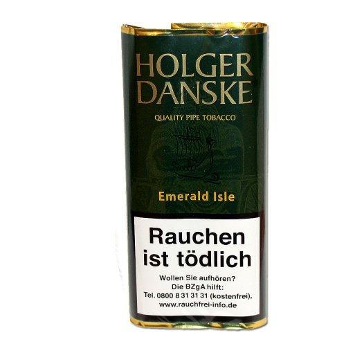 Holger Danske Pfeifentabak Emerald Isle (Sherry und Whiskey) 40g Päckchen
