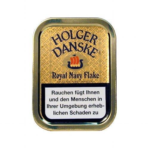 Holger Danske Pfeifentabak Royal Navy Flake 50g Dose