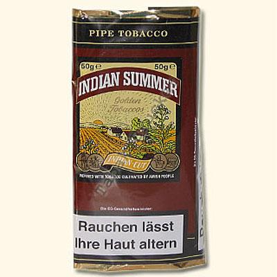 Indian Summer Pfeifentabak 50g Päckchen