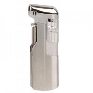 JEAN CLAUDE Pfeifen-Feuerzeug mit Pfeifenbesteck Glasgow Chrom