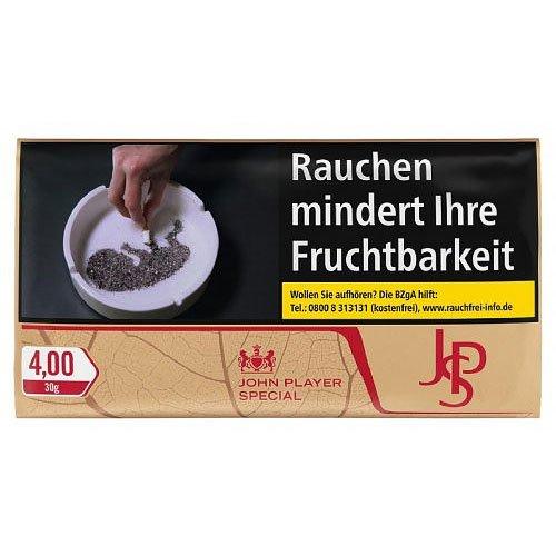 JPS Tabak ohne Zusatzstoffe Just Red 30g Päckchen Feinschnitt