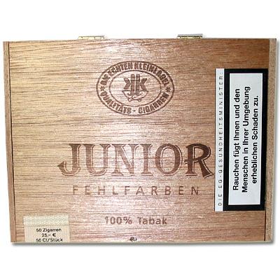 Junior FF Sumatra Fehlfarben 50er Kiste