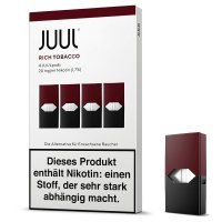 Juul Pods Rich Tobacco Refill 18 mg Nikotin