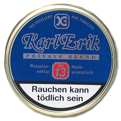 Karl Erik Pfeifentabak Private Blend No. 13 100g Dose