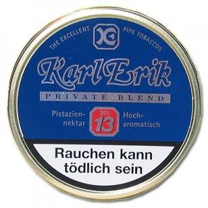 Karl Erik Pfeifentabak Private Blend No. 13 100g Dose