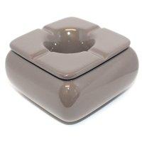 Keramik Aschenbecher grau
