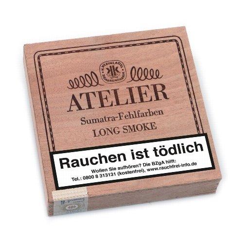 Kleinlagel Zigarren Atelier Sumatra Fehlfarben 50er