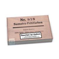Kleinlagel Zigarren Fehlfarben Nr. 818 Sumatra 25er