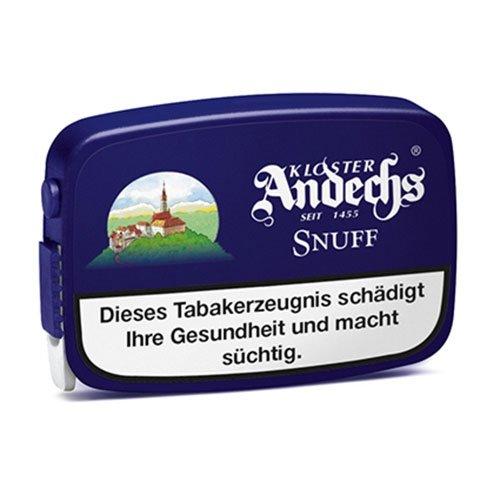 Kloster Andechs Spezial Snuff 10g Dose Schnupftabak