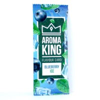Aroma King Blueberry Ice Flavour Card