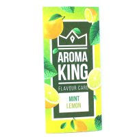 Aroma King Mint Lemon Flavour Card