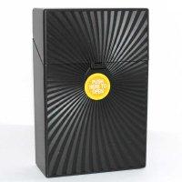 Clic Boxx 20er Deluxe Schwarz No2 Zigarettenbox