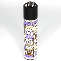 Clipper Feuerzeug Animal Squad 4v4 Hasen