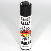 Clipper Feuerzeug Deutsch Türkisch 2v4 ALLES TAMAN