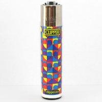 Clipper Feuerzeug Herzen 4 Farbig - 3v4