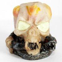 Gluttöter Totenkopf 1 für Zigaretten Aschenbecher