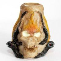 Gluttöter Totenkopf 2 für Zigaretten Aschenbecher