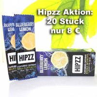 HIPZZ Aromakarte Blueberry Lemon