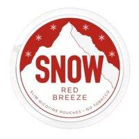 Snow Red Breeze All White Slim Nicopods