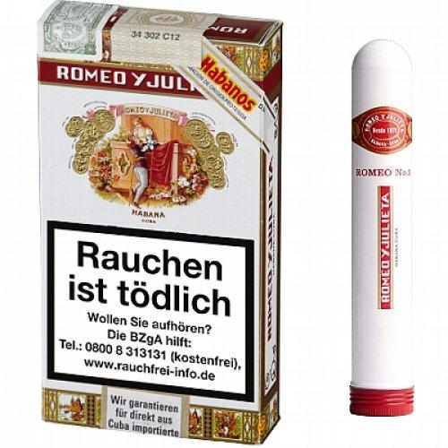 Romeo Y Julieta No.3 Tubos Zigarren 3 Stk.