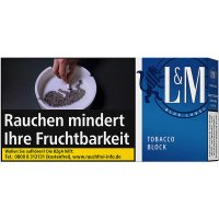 LM Tobacco Block Blue Label 42g Feinschnitt