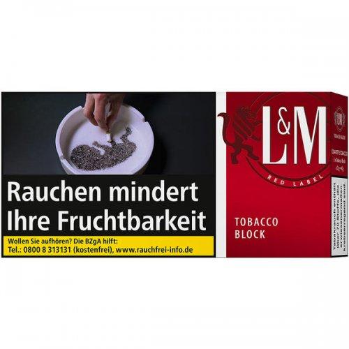 LM Tobacco Block Red Label 42g Feinschnitt