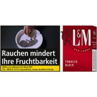 LM Tobacco Block Red Label 42g Feinschnitt