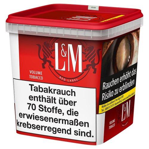 LM Volumentabak Rot Super Box280g Dose Zigarettentabak