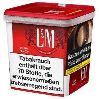 LM Volumentabak Rot Super Box 315g Dose Zigarettentabak